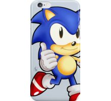 Classic Sonic the Hedgehog iPhone Case/Skin
