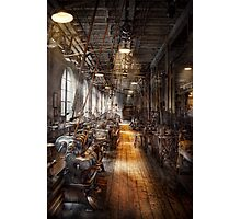 Machinist - Welcome to the workshop Photographic Print