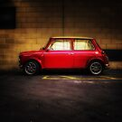 Wee Red Mini Cooper by Den McKervey