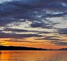 Sunset by Pete  Burton