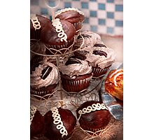 Sweet - Cupcake - Cupcake mountain Photographic Print