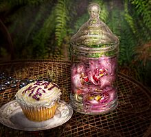 Sweet - Cupcake - Eat Me by Mike  Savad
