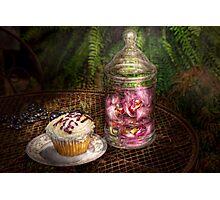 Sweet - Cupcake - Eat Me Photographic Print