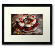 Sweet - Cupcake - Red velvet cupcakes  Framed Print