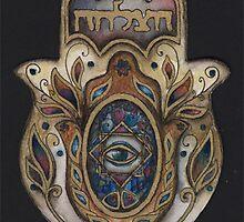 Fatima's hand by Marianna Venczak