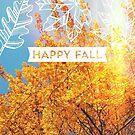 Autumn Gold Tree by Eliza Sarobhasa