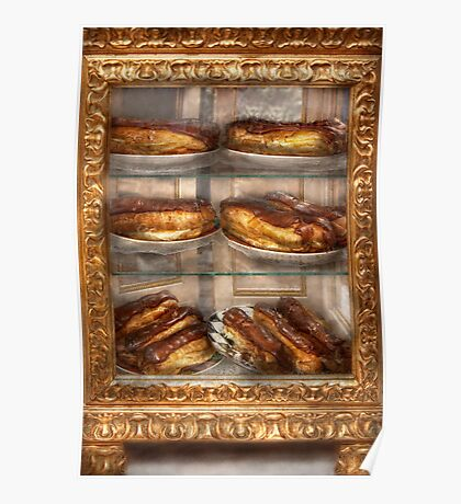 Sweet - Eclair - Chocolate Eclairs Poster
