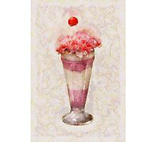 Sweet - Ice Cream - Ice Cream Float  Photographic Print