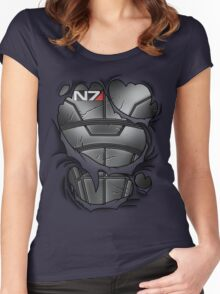 N7 Armor Women's Fitted Scoop T-Shirt