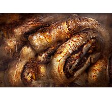 Sweet - Strudel - Almond Strudel Abstract Photographic Print