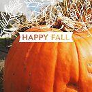 Autumn Orange Pumpkin by Eliza Sarobhasa
