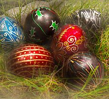 Spring - Easter - Easter Eggs  by Mike  Savad