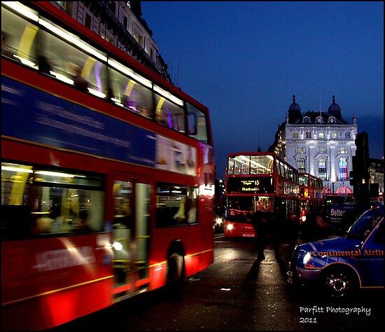 London after dark! by Greg Parfitt