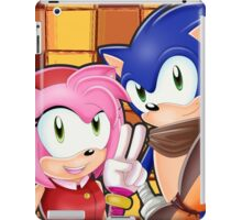Sonic Boom: Sonic, Amy Rose and Sticks iPad Case/Skin