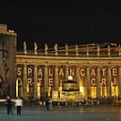 The Vatican at Night, Italy by Neha Singh