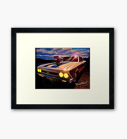 Muscular Framed Print