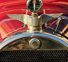 1915 Brewster-Knight Model 41 Landaulet Hood Ornament by Jill Reger