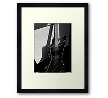 ROCK GUITAR Framed Print