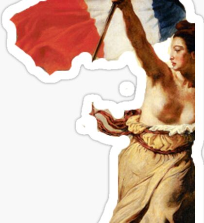 Liberty Leading the People Sticker