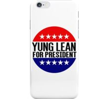 Yung Lean For President iPhone Case/Skin