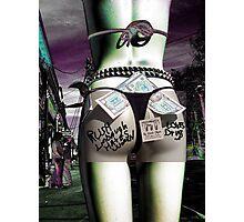 g - string Rush. Hates women; loves drugs. Photographic Print
