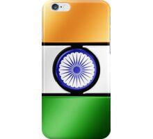 Indian Flag - India - Metallic iPhone Case/Skin