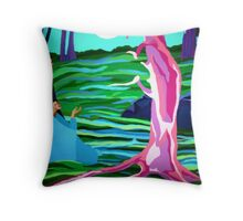 Spirits of the Forest Throw Pillow