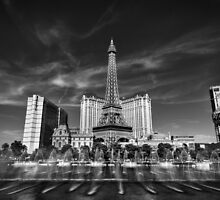 Las Vegas 016 BW by Lance Vaughn