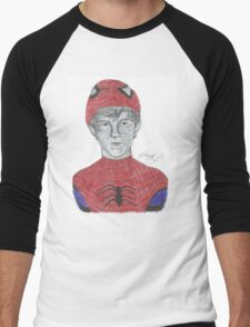 Tom Holland Spiderman  Men's Baseball ¾ T-Shirt