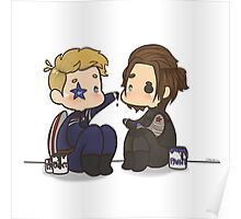 Stucky painting Poster