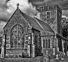 St Andrews Church, Wickhambreux by Dave Godden