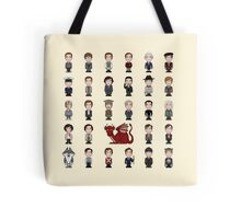 A Field Guide to the Common Cumberbatch (pillow/bag) Tote Bag
