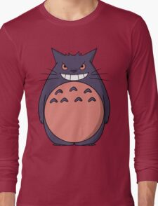 Toto Gengar Long Sleeve T-Shirt