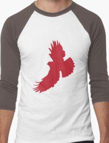 Eagle Silhouette Men's Baseball ¾ T-Shirt