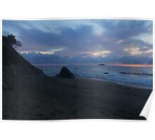 Sapphire Beach  Poster