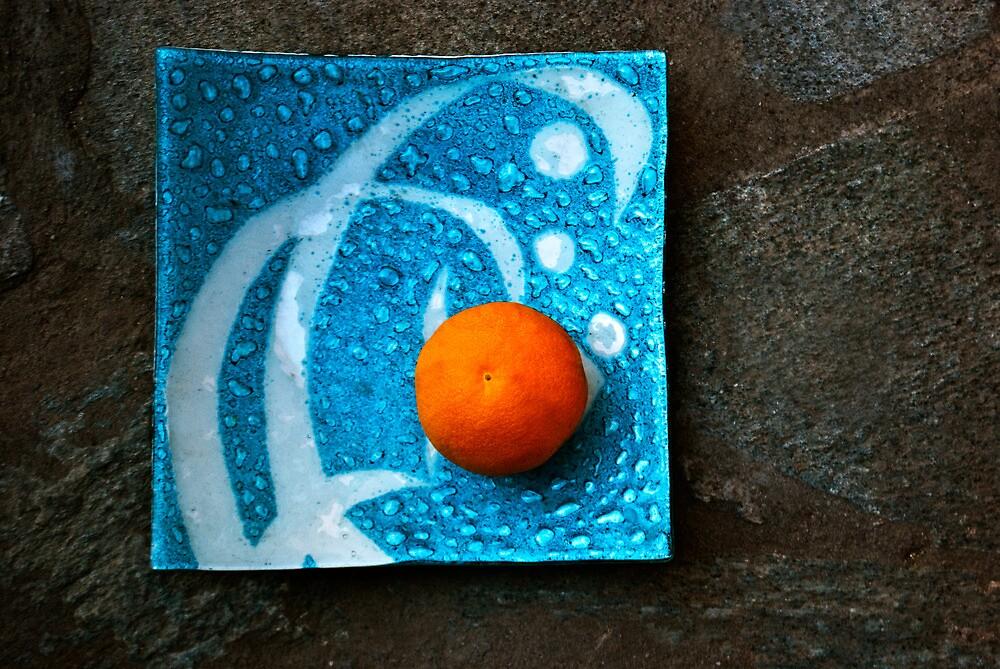 Orange I by Clockworkmary