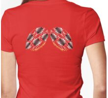 Cog and Gear Ladybug Wing Back Shirt Womens Fitted T-Shirt