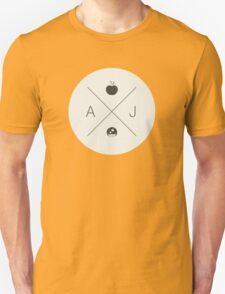 My Little Pony - Applejack Hipster Logo Unisex T-Shirt