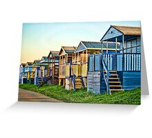 Beach Wood Greeting Card