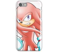 Hyper Knuckles the Echidna iPhone Case/Skin