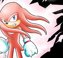 Hyper Knuckles the Echidna by Havocgirl