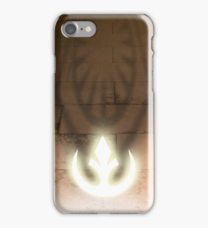 The dark side, and the light iPhone Case/Skin