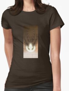 The dark side, and the light Womens Fitted T-Shirt