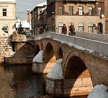 Bridge over the Mijacka, Sarajevo by Craig Higson-Smith