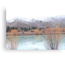 New Zealand, Lake Tekapo, South Island Canvas Print