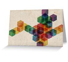 cube² Greeting Card