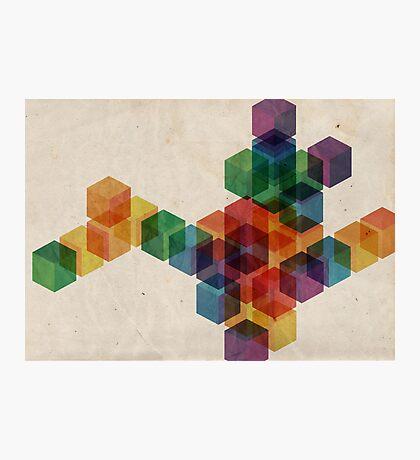 cube² Photographic Print