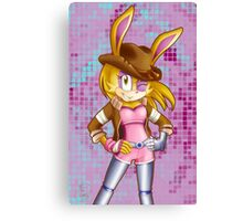 Bunnie Rabbot on Sonic Boom: Southern Style Canvas Print