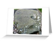 The Grave Of St Patrick Greeting Card