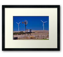 """""""Generations of Harvesting The Breeze"""" Framed Print"""